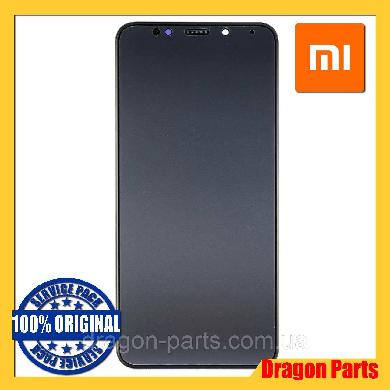 Дисплей Xiaomi Redmi 5 Plus з сенсором (тачскрін) і рамкою чорний, оригінал 560610032033