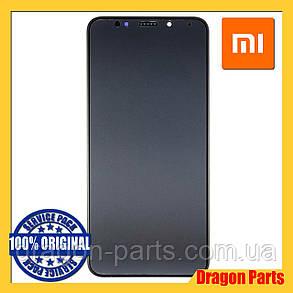 Дисплей Xiaomi Redmi 5 Plus з сенсором (тачскрін) і рамкою чорний, оригінал 560610032033, фото 2