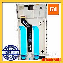 Дисплей Xiaomi Redmi 5 Plus з сенсором (тачскрін) і рамкою чорний, оригінал 560610032033, фото 3