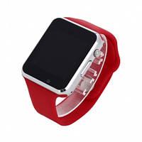 Умные Часы Smart Watch А1 red + Наушники подарок