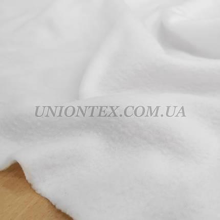 Ткань флис белый, фото 2