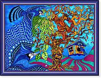 Репродукция  современной картины  «Сказочный мир»