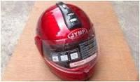Шлем трансформер красный