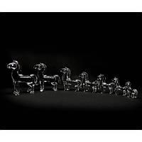 Кони хруные (набор 7 шт)(26х16х6 см) Код:18916