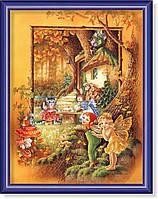 Репродукция  современной картины  «Мы из сказки»