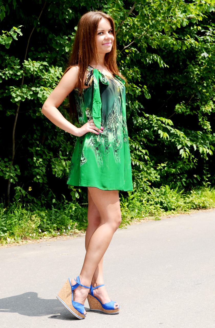 """Літній молодіжне плаття """"Кульбаба"""""""