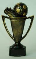 Статуэтка - Футбольный Кубок с мячом и бутсой Код:18065