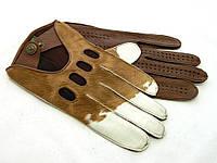 Перчатки мужские кожаные автомобильные Alpa Gloves 794-16