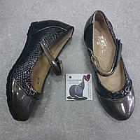 Бронза нарядные туфли Badoxx 31-36 размер
