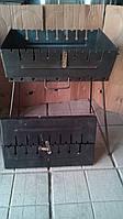 Мангал-чемодан 2мм, 8 шампурів