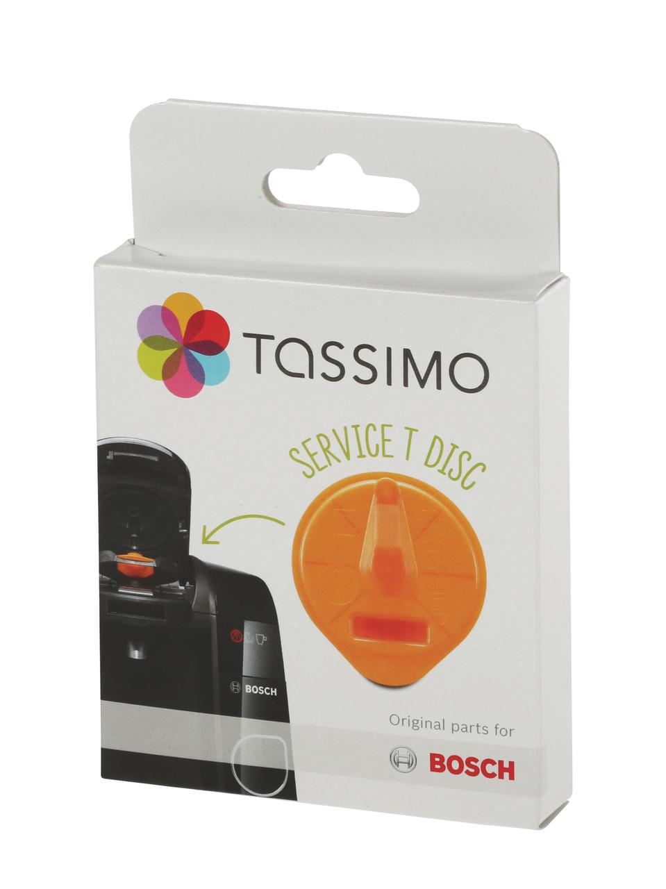 Сервісного T DISC помаранчевий для очищення кавоварок Tassimo Bosch