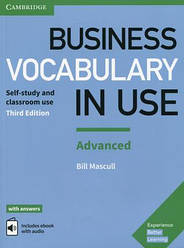 Business Vocabulary in Use Advanced 3rd Edition with answers and Enhanced ebook