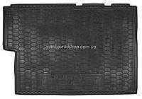 Резиновый коврик в багажник Ford Tourneo Custom 2017 - (рестайлинг) Avto-Gumm