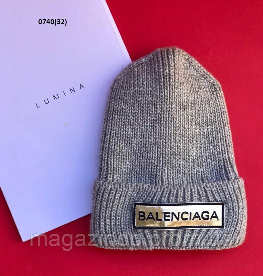 Ная вязанная шапочка 0740(32) Код:797615186
