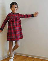 Осенне-зимнее платье детское в кчку 02 (93) Код:817736174, фото 1