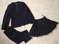 Школьный костюм тройка для девочки р. 122, 128, 134, 140