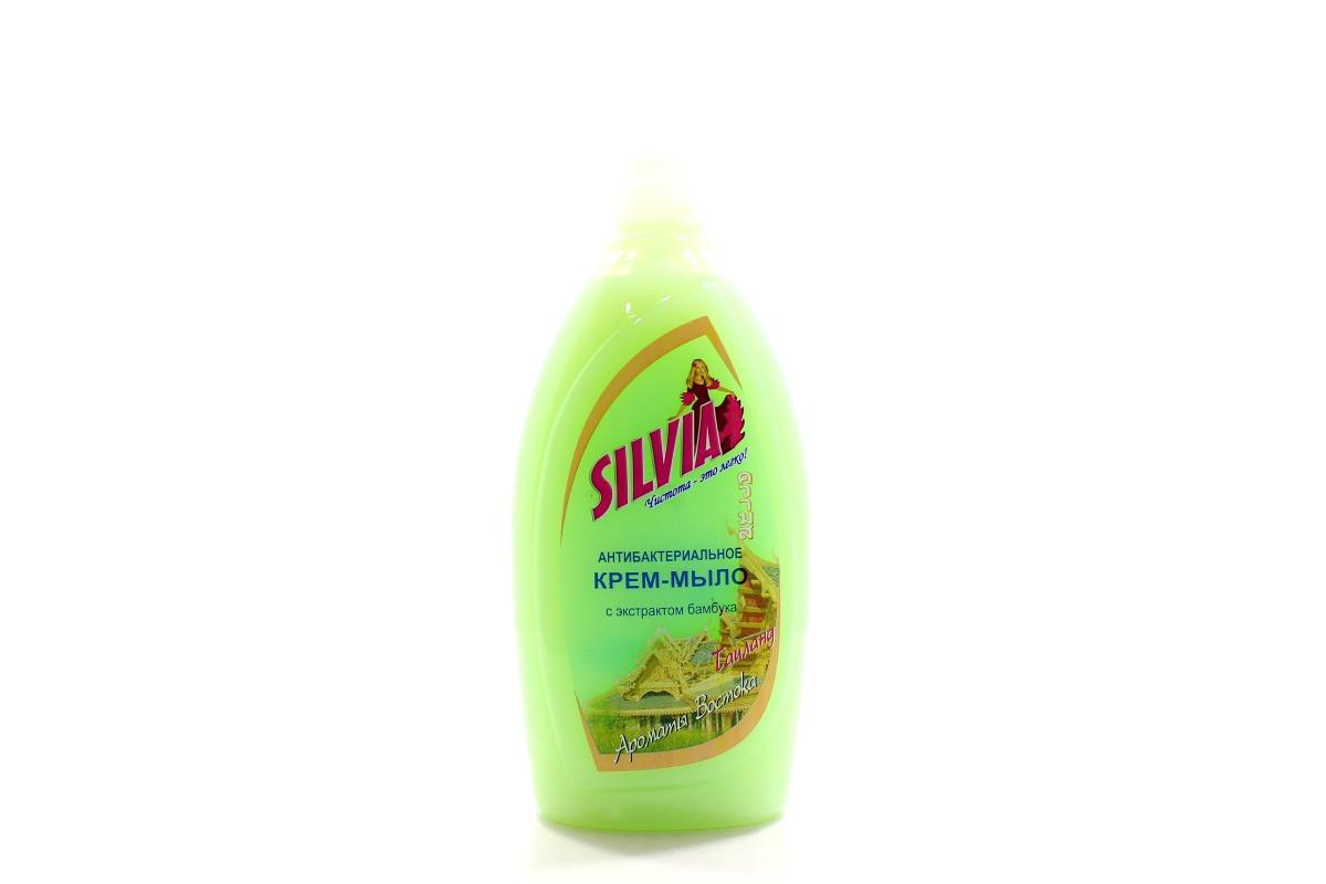 """Крем-мыло жидкое Silvia """"Таиланд"""" антибактериальное 500 мл"""
