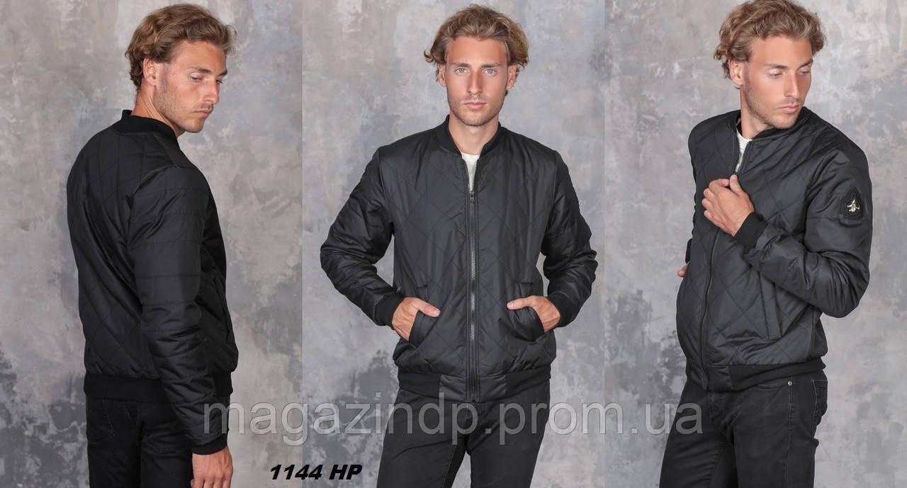 Ная куртка мужская бомбер 1144 НР Код:807290770