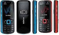 Корпус для Nokia 5320, с клавиатурой, черный, оригинал