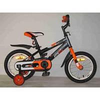 Детский двухколесный велосипед STITCH А Стич 14 дюймов азимут Кроссер