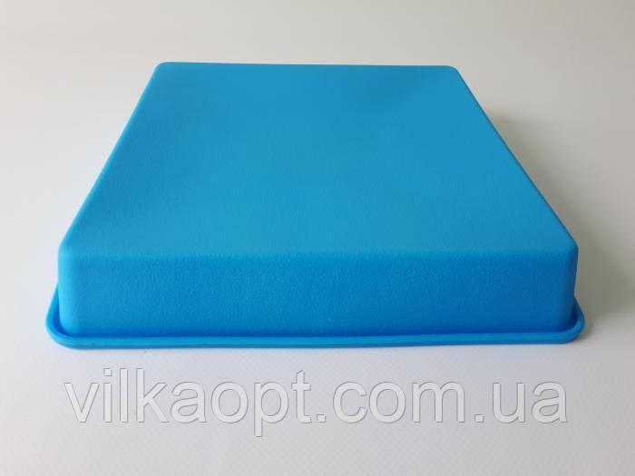 Форма силиконовая для выпечки 24,5*19,5*3,5 cm