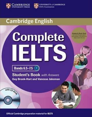 Complete IELTS Bands 6.5-7.5 Student's Book with answers with CD-ROM and Audio CD