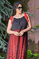 Платье софт стрейч, сетка Размеры: 50,52,54,56