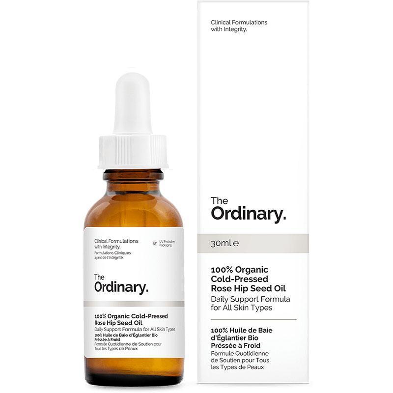 Масло шиповника холодного отжима The Ordinary 100% Organic Cold-Pressed Rose Hip Seed Oil