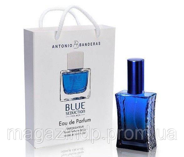 Парфюмированная вода мужская onio Banderas Blue Seduction  50мл Код:484878239