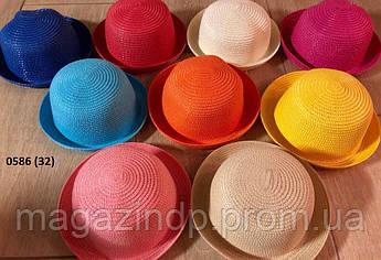 Ная летняя  детская шляпка 0586 (32) Код:718644797
