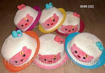 Ная летняя детская шляпка 0590 (32) Код:718638615