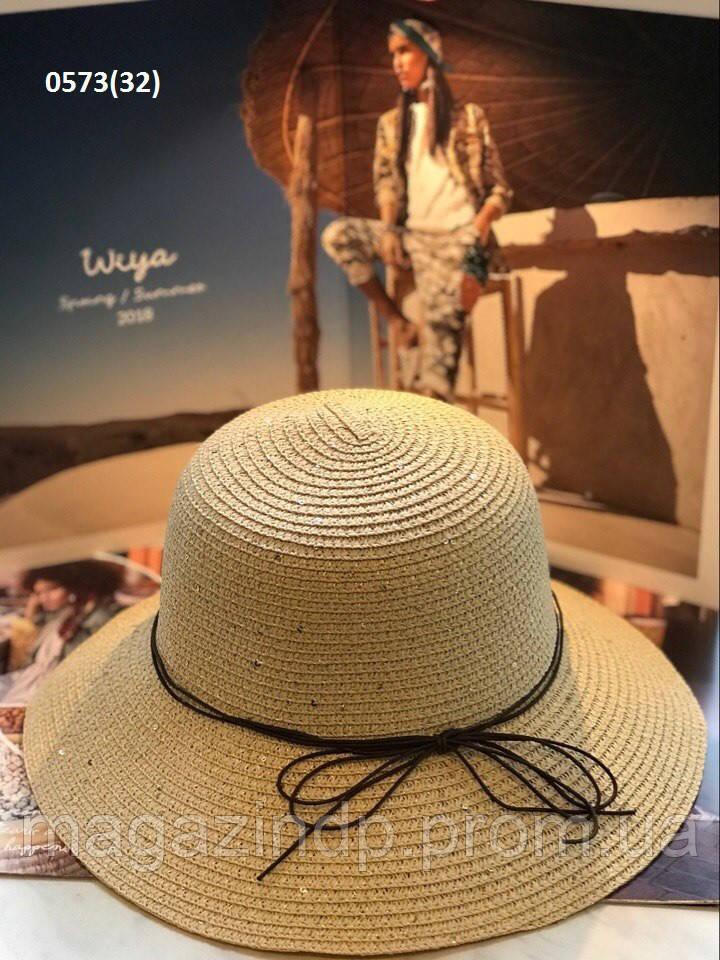 Ная летняя женская шляпка 0573(32) Код:718773440