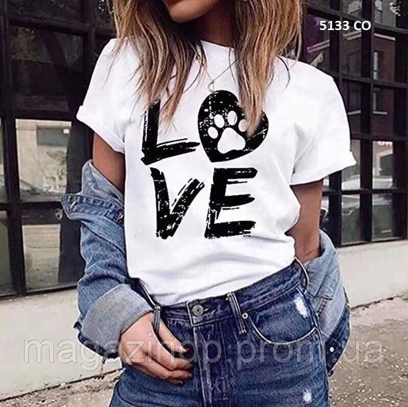 Женская летняя футболка 5133 СО Код:968022946