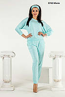 Ный женский костюм с брюками 3743 Мила Код:917166126