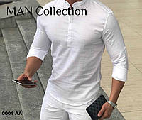 Супер модная мужская рубашка 0001 АА Код:969708940