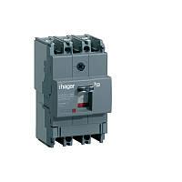 Силовий автоматичний вимикач 200A 40kA 3 полюса HNB200H x250 Hager