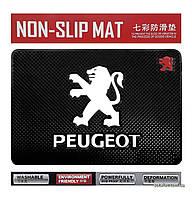 Антискользящий коврик в машину Anti-Slip Pad Peugeot Black