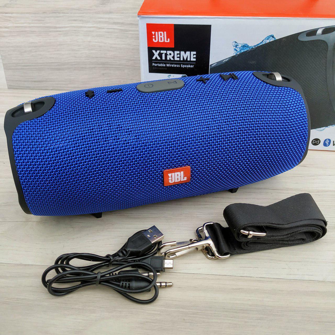 Портативная Bluetooth-колонка  JBL Xtreme Mini  Синяя