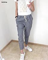 Женские брюки в полоску 5119 Со Код:982881741, фото 1
