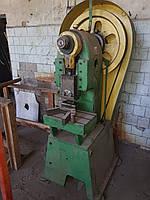 Пресс кривошипный 6 т ус. зл/механический одностоечный , фото 1