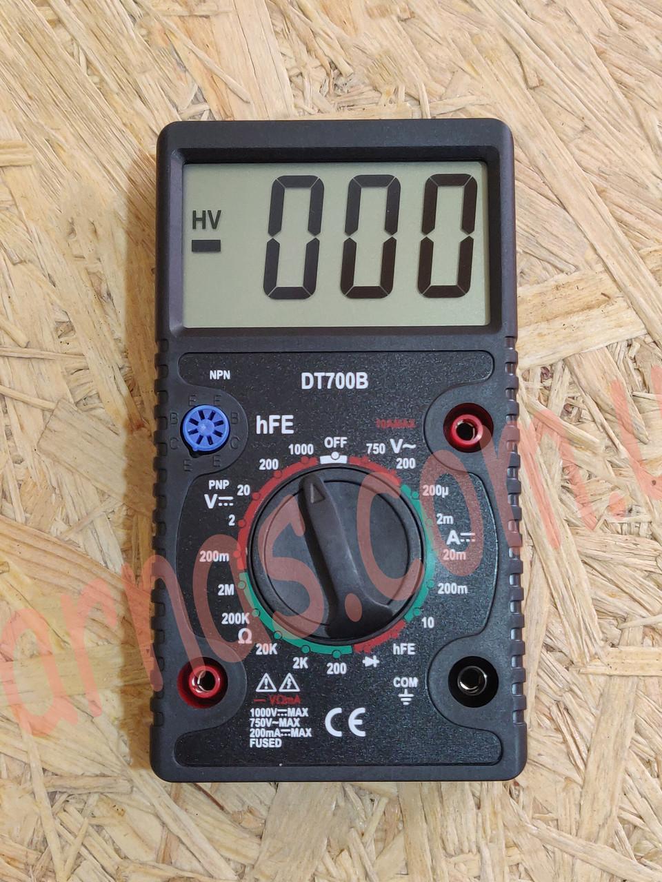 Мультиметр (тестер) DT700B цифровой