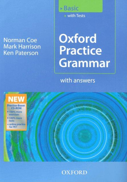 Oxford Practice Grammar Basic with answers and CD-ROM