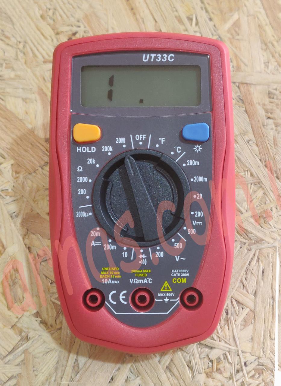 Мультиметр (тестер) Digital Multimeter UT33C цифровой