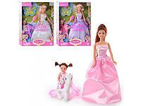 Кукла с дочкой и лошадкой Defa 8077, 3 вида