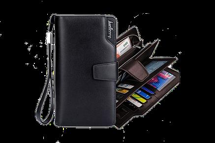 Мужской кошелек-клатч Baellerry Business black (wallerry), фото 2