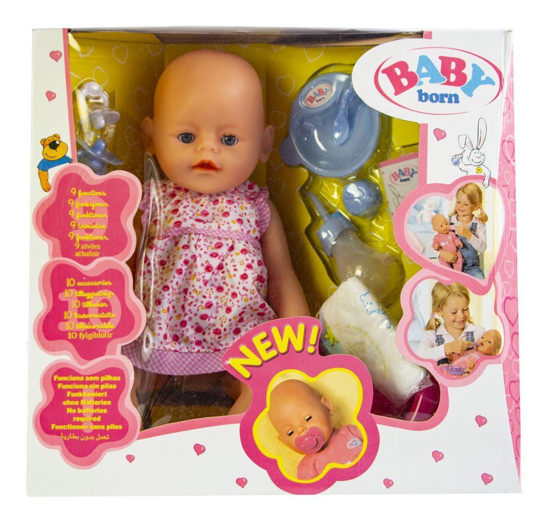 Кукла Baby Born (Бейби Борн) с аксессуарами (К174)