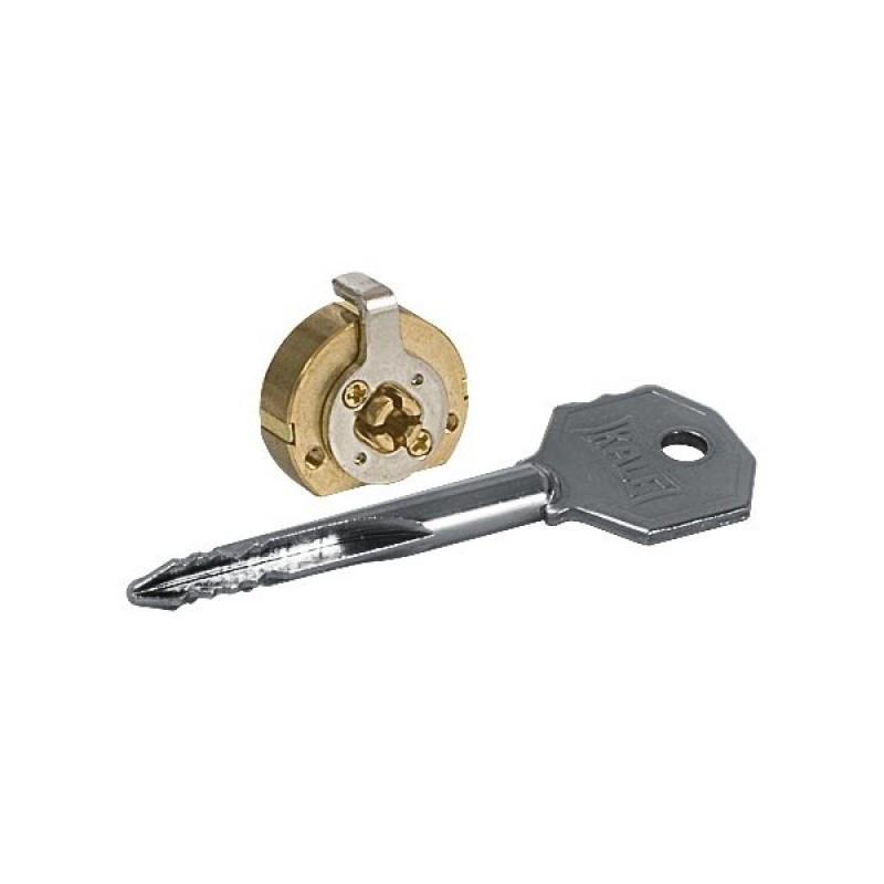 Цилиндр Kale 164FB с крестовым ключом 5 ключей