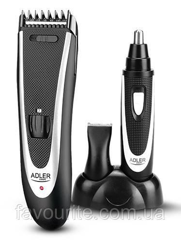 Машинка для стрижки волос с триммером Adler AD 2822