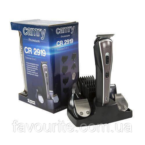 Триммер, бритва, машинка для стрижки 5 в 1 Camry CR 2919