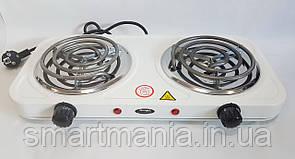 Електроплита спіральна WIMPEX WX-200B 2000 W